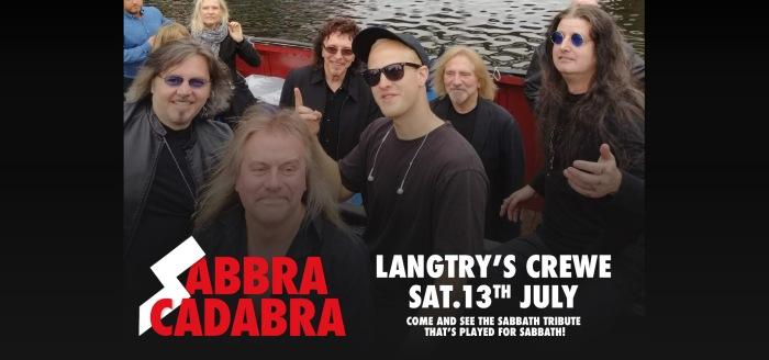 Sabbra + Sabbath Crewe 13 July wide